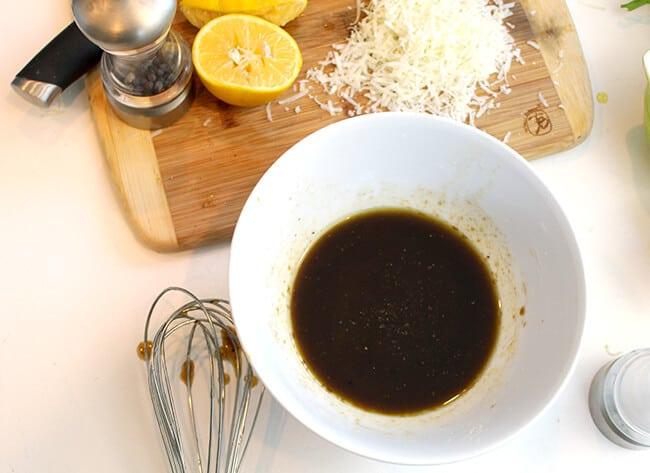 How to Make Lemon Balsamic Dressing