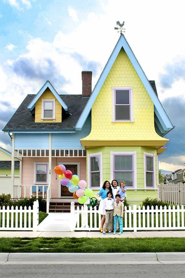 The Real Up House in Herrington Utah - Family Travel