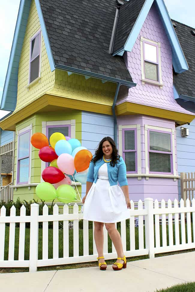 Up House - Jill Parkin OC Mom Blog