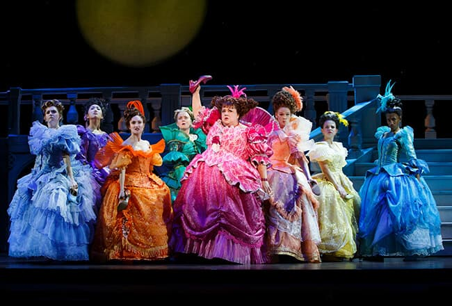 Cinderella the Musical Ahmanson Step Sisters