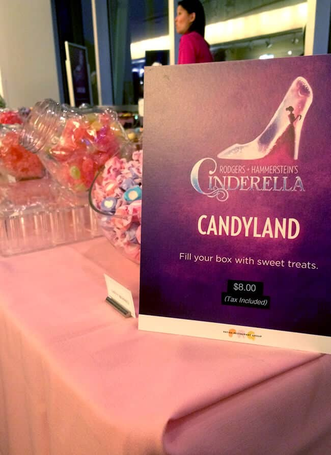 Cinderella the Musical Ahmanson Theater Candyland