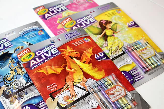 Crayola Color ALIVE Coloring Books are Awesome Popsicle Blog