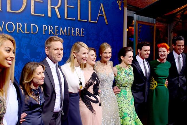 Disney Cinderella Movie Cast REd Carpet #JCPCinderellaMoment