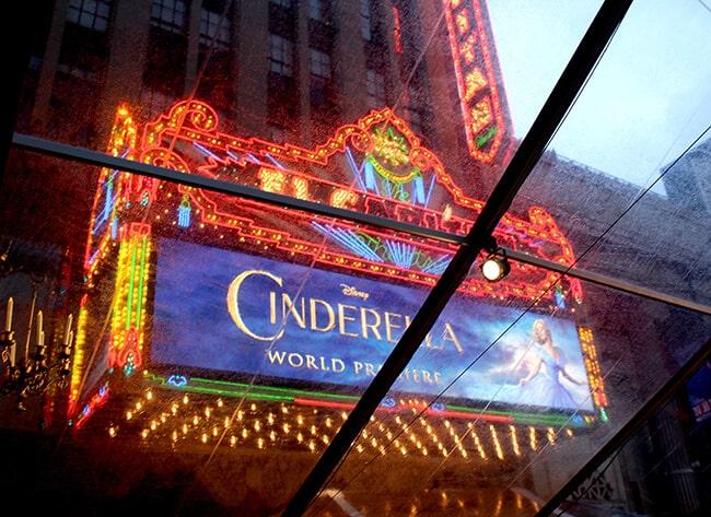 Disney Cinderella Movie El Capitan #JCPCinderellaMoment