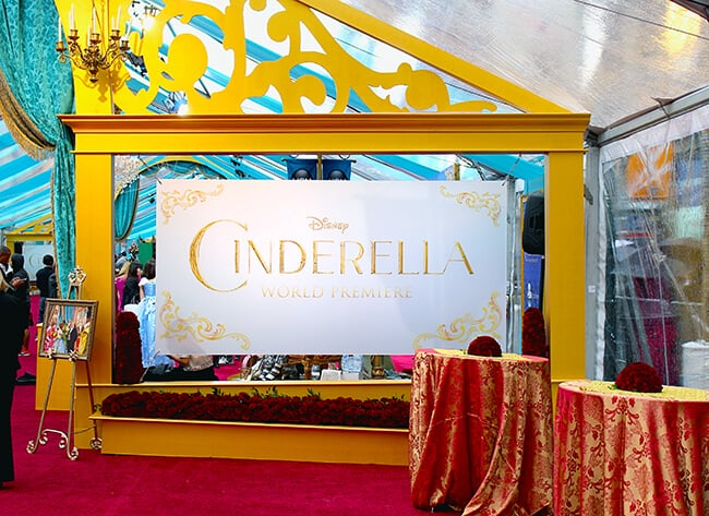 Disney Cinderella Movie World Premiere #JCPCinderellaMoment