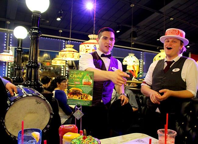 Farrell's Restaurant Singing