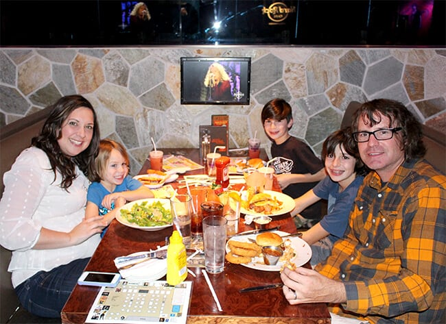 Hard Rock Cafe Best Family Dining