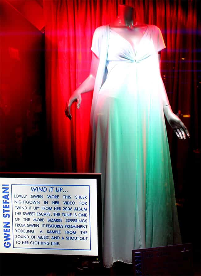 Hard Rock Cafe Gwen Stephani Memorabilia