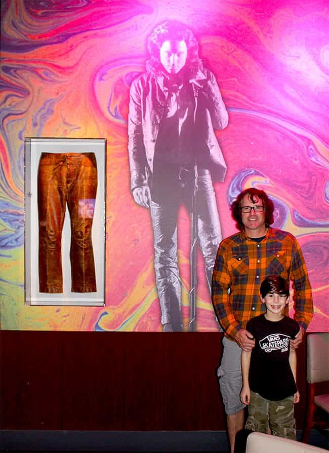 Hard Rock Cafe Morrissey Memorabilia