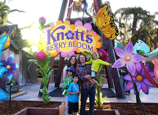 Knott's Berry Bloom Event