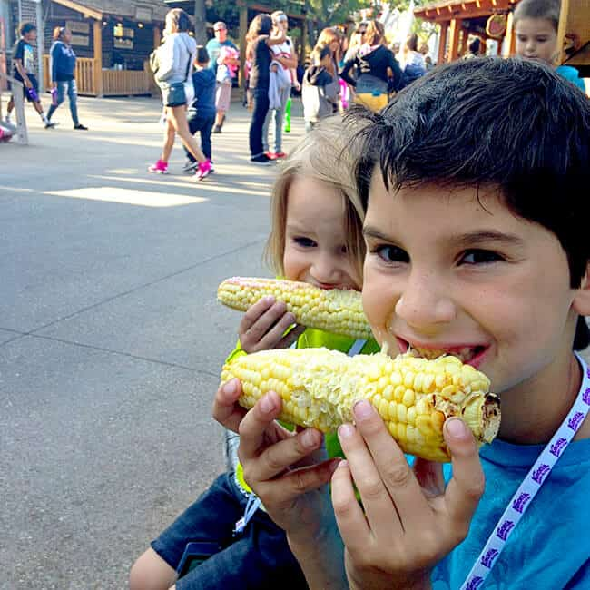 Knott's Berry Bloom Festival_Roasted Corn