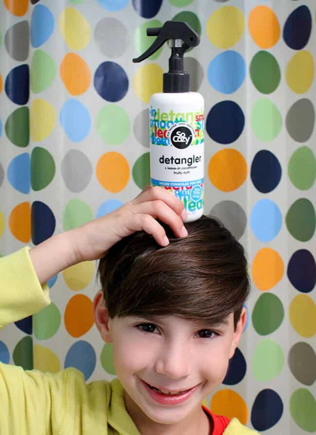 Non Toxic Kids Hair Detangler