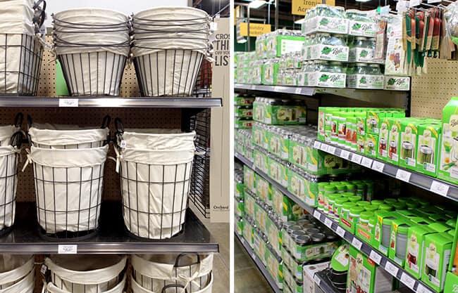 Orchard Hardware Supply Mason Jars Laundry Baskets
