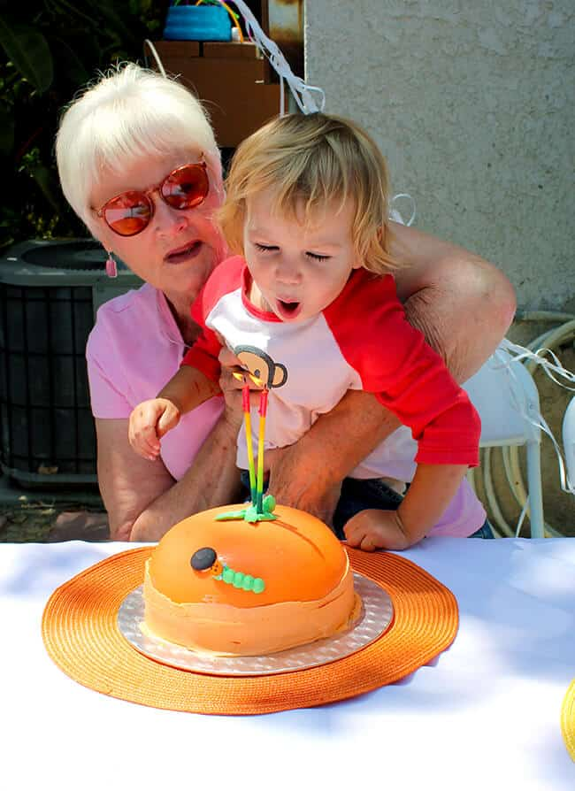 Smash Cake Wacky Cake