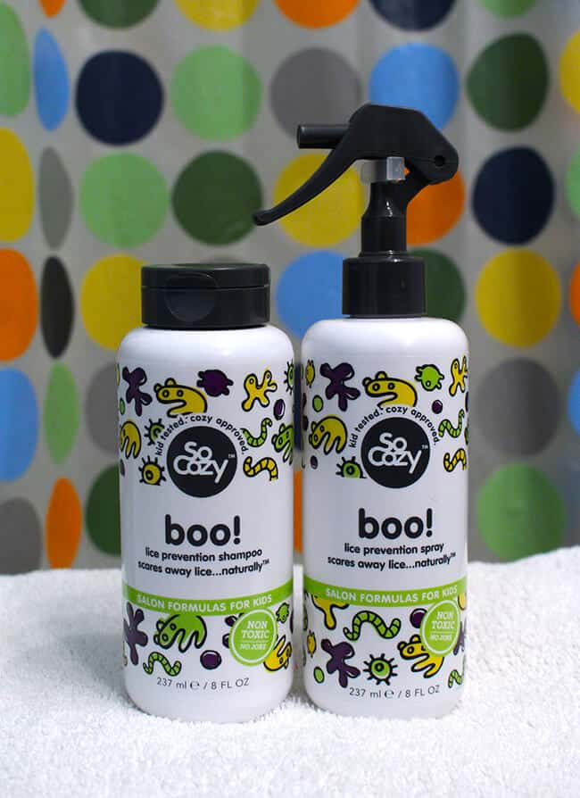 So Cozy Boo Best Kids Lice Prevention Shampoo