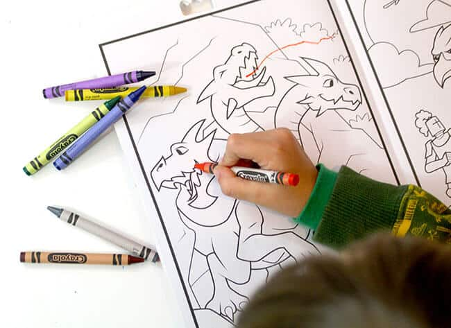 iPad Crayola Coloring Books 4D