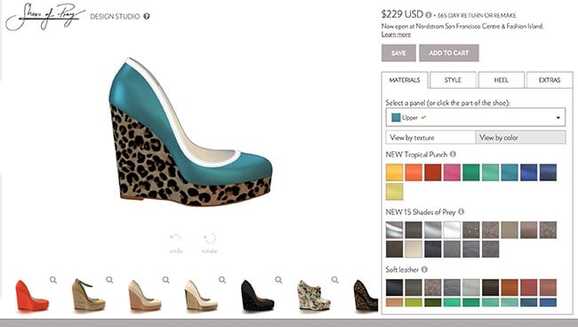 Design Your Own Custom Shoes