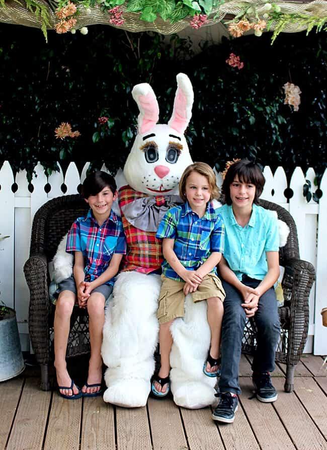 Irvine Park Railroad Easter Bunny