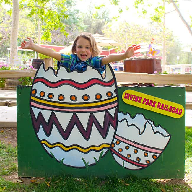 Irvine Park Railroad Easter Eggstravaganza