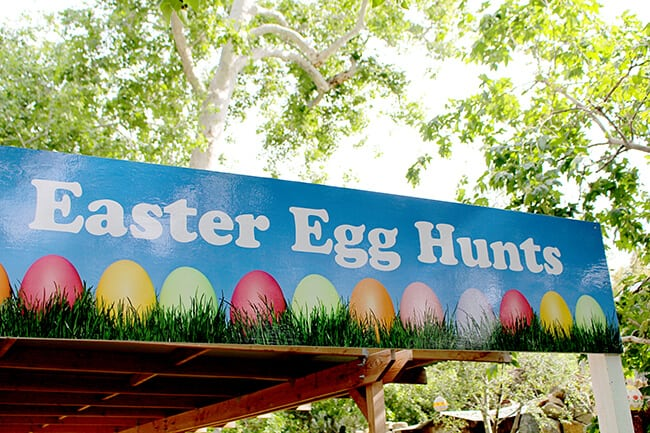 Irvine Park Railroad Egg Hunt