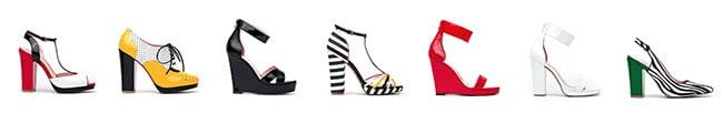 Janie Bryant Exclusive Shoe Designs
