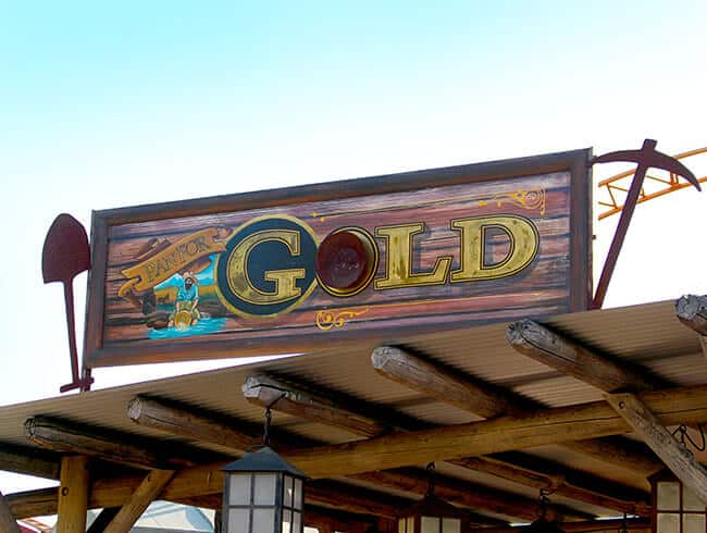 Knott's Panning for real gold experience