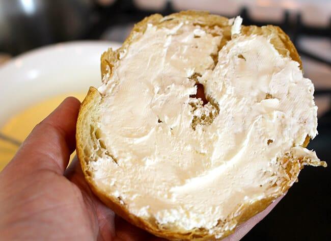 Orange Cream Cheese Croissant French Toast