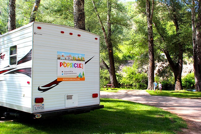Popsicle Blog Road Trip Trailer