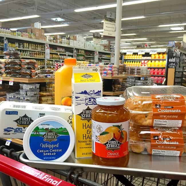 Smart and Final Party Food Supply