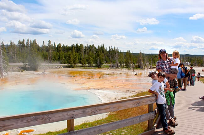Yellowstone Paint Pots