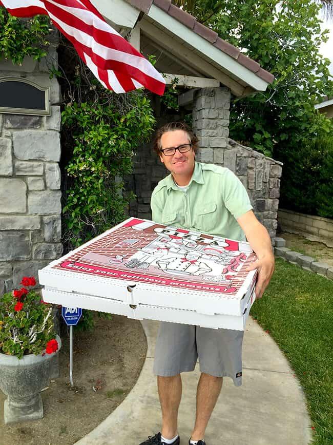 Anaheim Giant Pizza