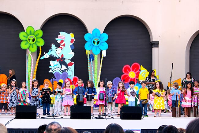 Anaheim tiny tots graduation performance
