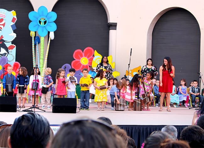 Anaheim tiny tots graduation song