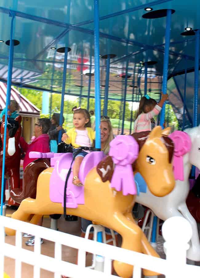Heartlake City Carousel at Legoland