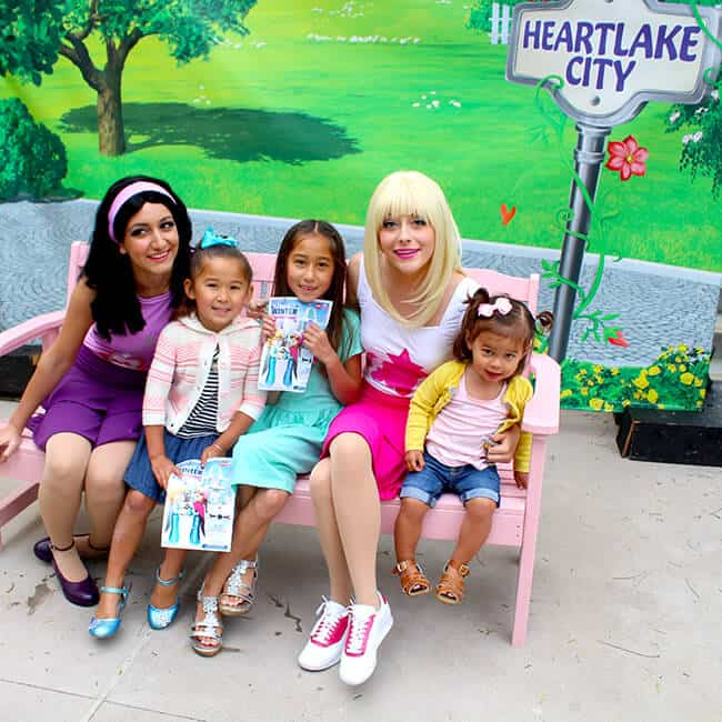 Meet the Heartlake City Friends at Legoland
