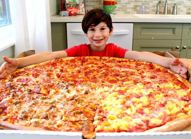 Orange County Giant Pizza Party