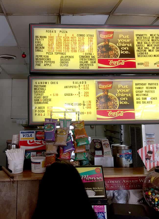 Orange County Giant Pizza Prices