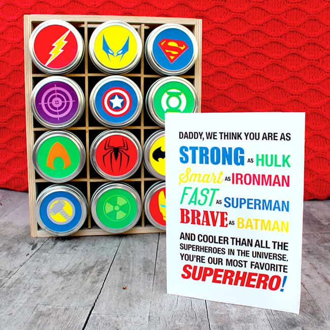 Superheroes Free Printable