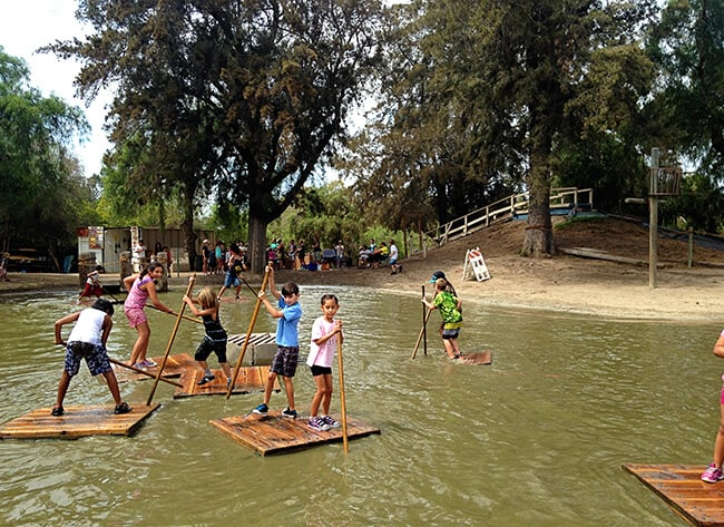 Tom Sawyer Rafts Huntington Beach Adventure Playground Mud Park