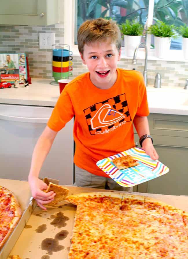 Tween and Teen Pizza Party Ideas