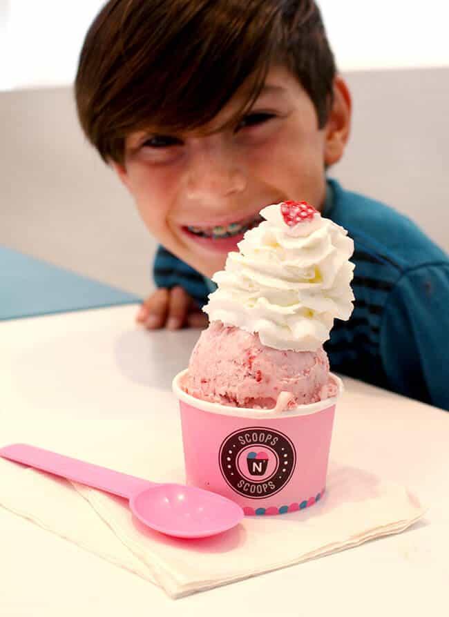 Best Orange County Strawberry ice Cream