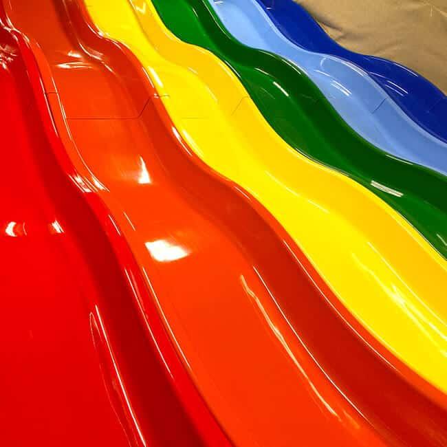Billy Beez Anaheim Rainbow Slides