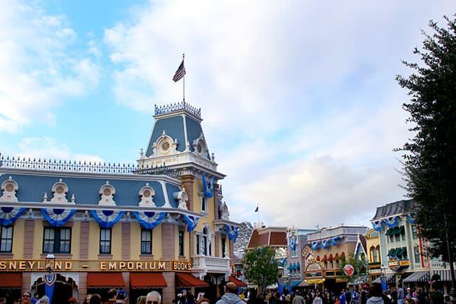 Disneyland 60th Anniversary Main Street