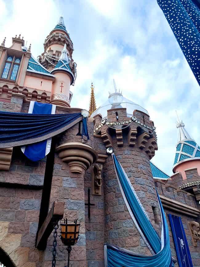 Disneyland 60th Celebration Sleeping Beauty Castle