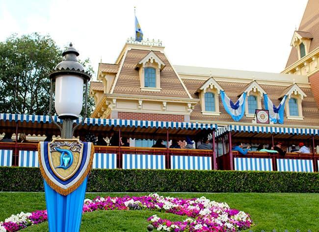 Disneyland 60th Diamond Celebration Decorations