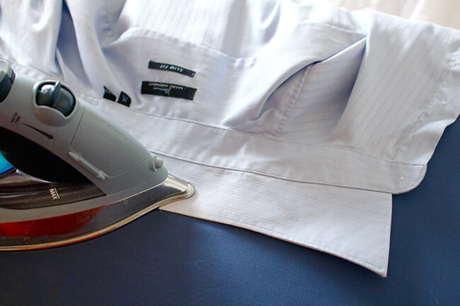 How to Iron a Collared Shirt