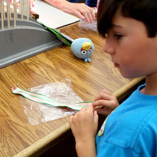 Kids Making Ribbon Candy