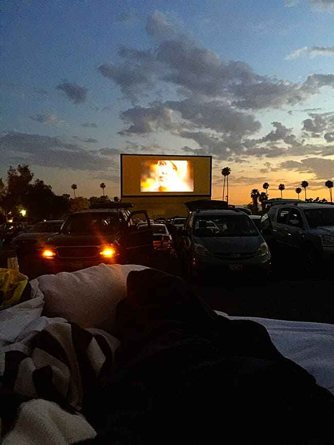 Riverside Outdoor Movie Theater