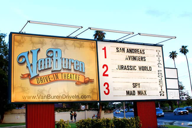 Van Buren Drive In Movie Theater