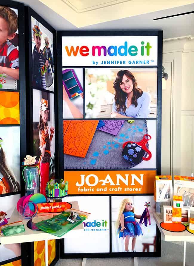 We Made It Crafts by Jennifer Garner